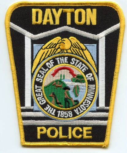 DAYTON MINNESOTA MN POLICE PATCH