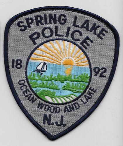 Spring Lake Police State New Jersey NJ