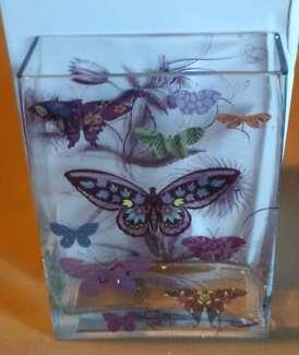 Butterfly design Vase