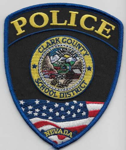 Clark County Scholl Dist Police State Nevada NC Colorful