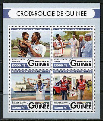 GUINEA  2017  RED CROSS OF GUINEA SHEET MINT
