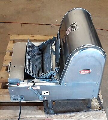 Berkel Countertop Commercial Bread Slicer Mb 716 Stainless Steel