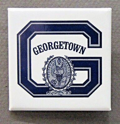 GEORGETOWN UNIVERSITY sports basketball celluloid pinback button