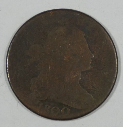 1800 Draped Bust Large Cent AG 1c