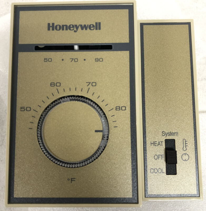 Honeywell T6169B4017 Fan Coil Thermostat New Single Valve Snap Action