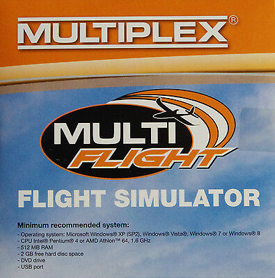 Flugsimulator - Flugsimulations-Software Multiplex Multiflight - PLUS CD 855332