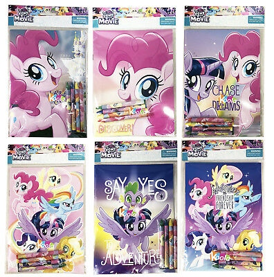 (My Little Pony Coloring Book Super Set with Crayon Party Favor)