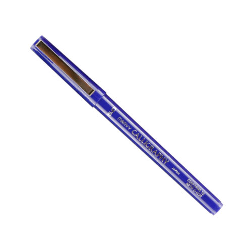 6000BS-3 Marvy Permanent Calligraphy Marker, 5.0mm Tip, Blue Ink, Pack of 1