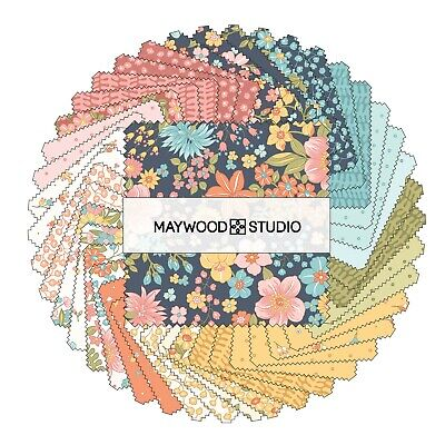 Sunlit Blooms Charm Pack From Maywood Studio - (42) 5