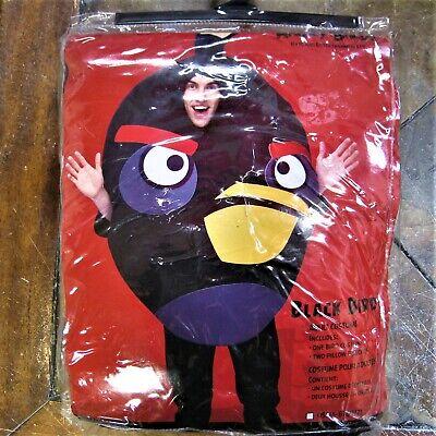 Angry Birds Black Bird Adult Party Costume Rovio - Black Bird Kostüme
