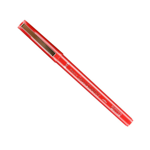 6000FS-2 Marvy Permanent Calligraphy Marker, 2mm Tip, Red Ink, Pack of 25