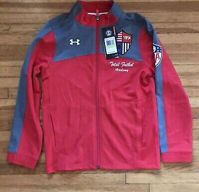 the latest e98f6 4b6ed Under Armour UA Youth M warm Up Jacket Soccer Msrp  55