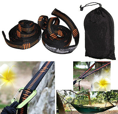 Atlas Polyester Slap Straps Suspension Hanging System for ENO Hammock 500 Pounds
