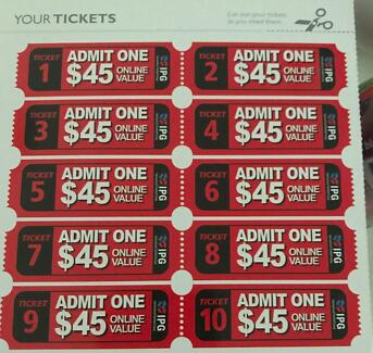 10 Paintball Tickets on Exciting Price