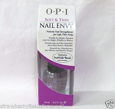OPI Nail Treatment Strengthener Hardener ENVY Soft & and Thin  .5oz15ml