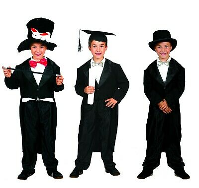 10 Funny Halloween Costumes (Funny Fashion Halloween-Party Kid's Little Groom Tailcoat-Size)