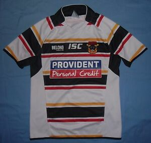 Bradford BULLS / 2014 Home - ISC - MENS rugby Shirt / Jersey. Size: S - <span itemprop='availableAtOrFrom'>Poland, Polska</span> - If an item is to be returned because you changed your mind (you do not like the color, size etc), you will have to cover the return shipping's fee. I do my best to describe the listed stuff as wel - Poland, Polska