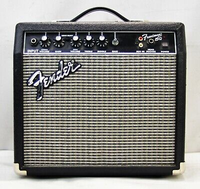 Fender Model Frontman 15G Portable Lightweight Electric Guitar Combo Amp
