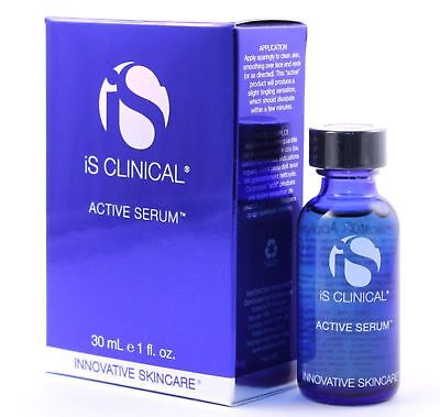 iS Clinical Active Serum 30ml/1 fl.oz Brand New Sealed Brand New In Box Fresh