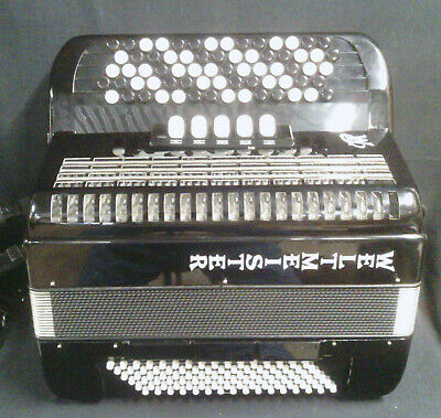 Chromatic Button Accordion C System Musette Tuned MMM