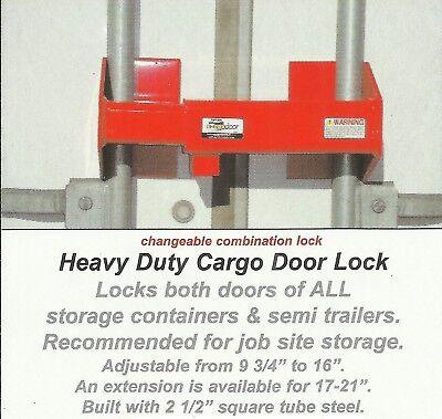 Combination Heavy Duty Steel Door Lock Cargo Storage Truck Trailer Hdcdl-c Hdcdl