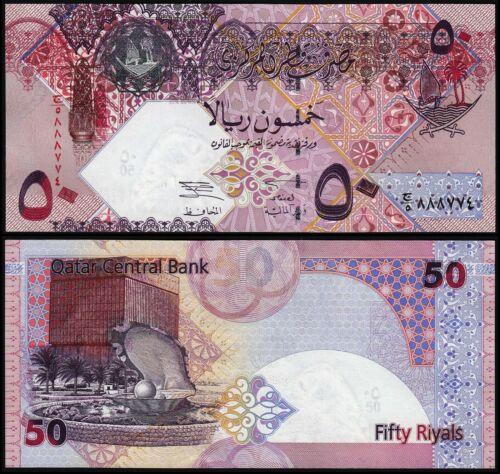 QATAR 50 RIYALS (P23) N. D. (2003) UNC