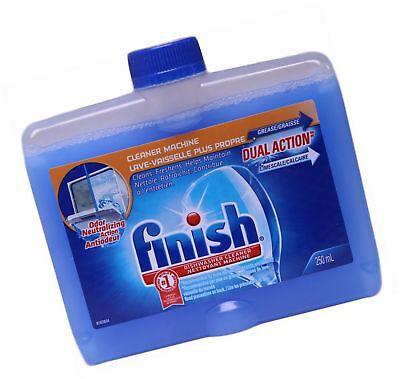 Finish Dishwasher Cleaner Dual Action Formula, Original, Pac