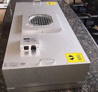 HEPA Fan filter unit FFU 120v (Fits US T-bar 2'x4' UL listed) Cleanroom 99.997% - Hvac Hepa Filters