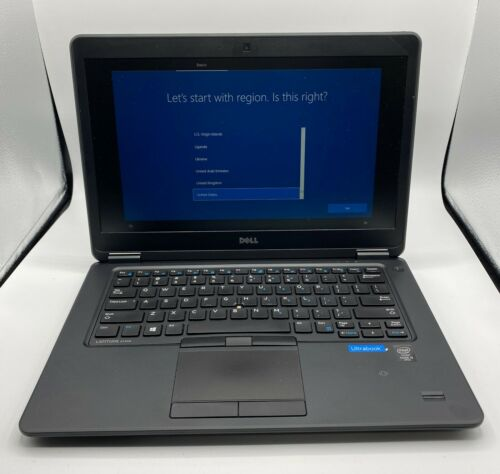 "Dell Latitude 7450 i5 Laptop 8GB DDR3 RAM Intel Core 5th Gen 250GB SSD 14.0"" LCD"