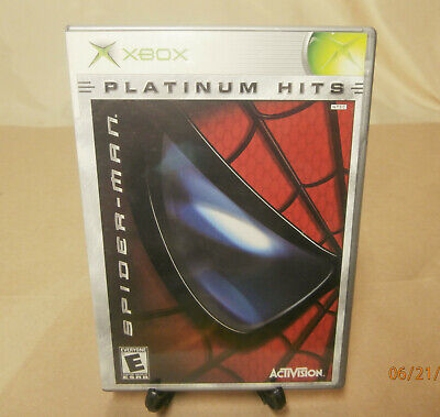 "2003 Spider-Man ""Platinum Hits"" Xbox Game - Complete"