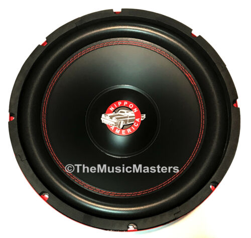 "12"" inch Home Stereo Sound Studio WOOFER Subwoofer Speaker Bass Driver 8 Ohm Sub"