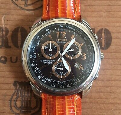Citizen Eco Drive  Chronograph/Tachymeter  AT0120-11E