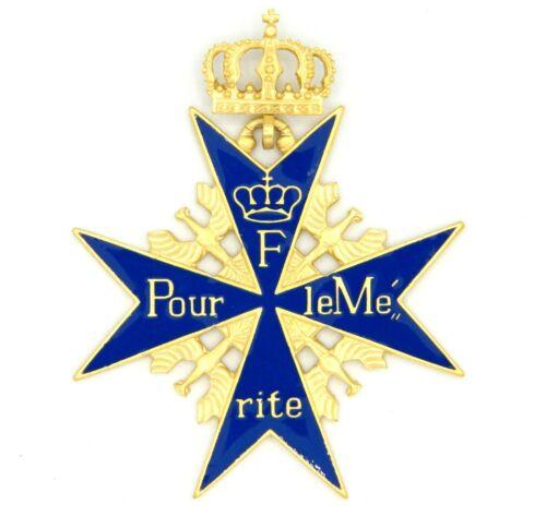 WW1 The Pour le Mérite - Verdienstorden German Prussia