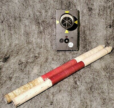 Trimble Geodimeter Remote Target Lr Long Range - Pn 571 202 480 2x Poles