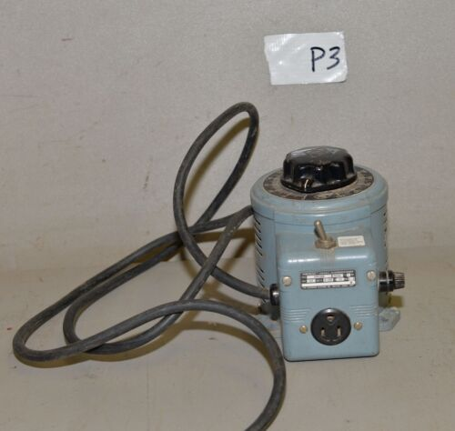 Powerstat Variable transformer 3PN116B  0-140volt 10 amp autotransformer P3