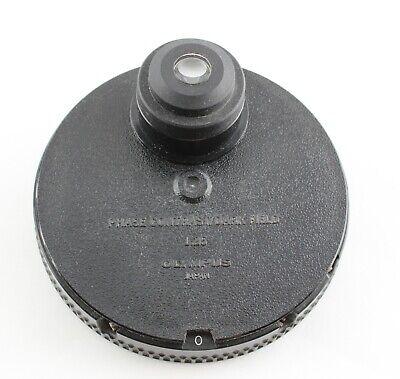 Olympus Bh Ch Ch2 1.25 Phase Contrast Dark Field Condenser Microscope