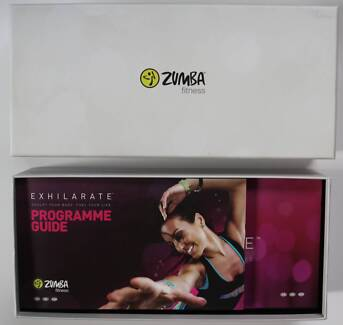 Zumba fitness exhilarate boxed set - near new