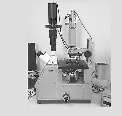 Zeiss Inverted Advanced Microscope With Qimaging Camera Image Analysis System