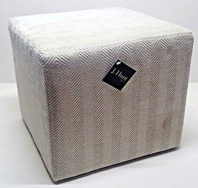 J Hunt Home Cream Off White Fabric Upholstery 12