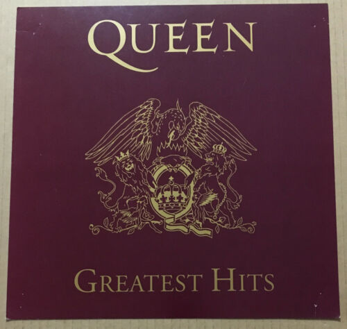 Freddie Mercury QUEEN Rare 1992 PROMO POSTER FLAT of Greatest CD 12x12 Brian May