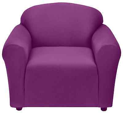 purple chair slipcover also in sofa couch
