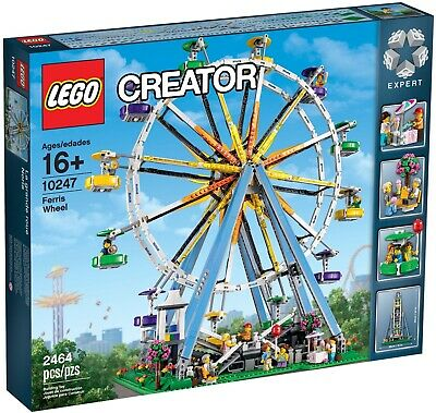 NEW SEALED LEGO 10247 CREATOR FERRIS WHEEL 23 INCH HIGH 21 INCH WIDE for sale  Shipping to South Africa