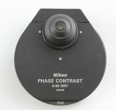 Nikon Eclipse E I Series Phase Contrast Condenser 0.90 Dry Microscope E400