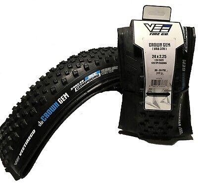 27.5x3.0 76mm-584mm 2 Vee Tire Crown Gem Bike Folding Bead Silica Compound
