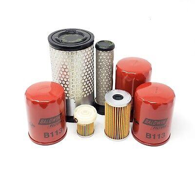 Kubota B3030hsd B3030hsdc B3030hst Wkubota V1505 Engine Filter Kit B3030