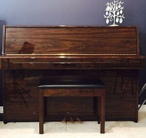 "Yamaha ""C109BPW"" Upright Piano"