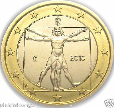 Leonardo da Vinci Masterpiece on an Italian Euro Coin UNCIRCULATED Italy