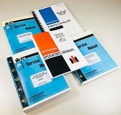 International 886 Tractors Operators Parts Service Manuals D-360 Sn Up To 14471