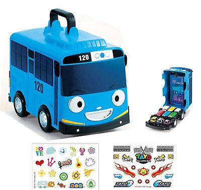 "Tayo Little Bus /""New Waddle Waddle Tayo/"" Friction Gear Car Kids Toy TV Animation"