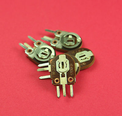 5pack -10k Watt Trimmer Trim Pot Potentiometer Resistors New